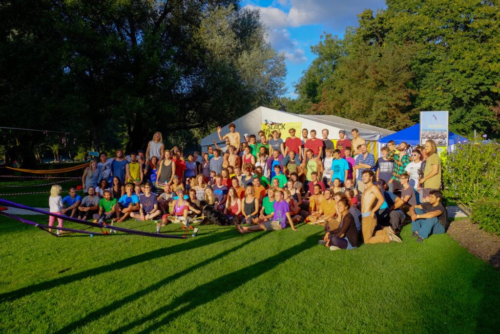 Bern City Slack Festival Gruppenbild